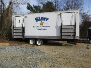 South Jersey Portable Toilet Trailer